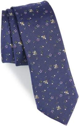 Paul Smith Floral Bee Silk Tie