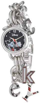 Disney Women's MK2067 Mickey Mouse Dial Charm Watch