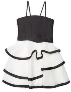 Zoe Girl's Kara Tiered Dress