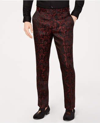 INC International Concepts I.n.c. Men's Paisley Jacquard Pants