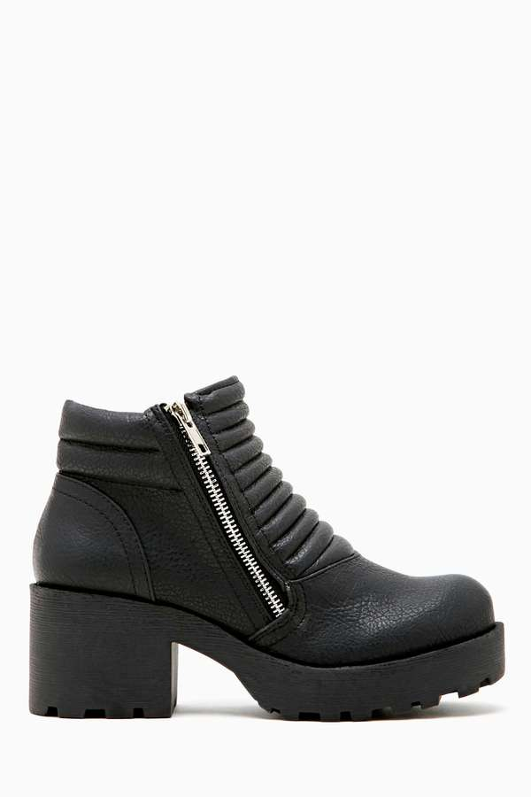 Nasty Gal SixtySeven Reckless Combat Boot