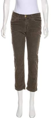 Current/Elliott Mid-Rise Corduroy Pants