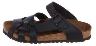 Birkenstock Leather Slide Sandals