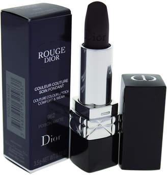 Christian Dior 0.12Oz #962 Poison Matte Rouge Couture Colour Comfort & Wear Lipstick