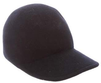 Stella McCartney Wide-Brim Wool Cap