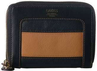 Lodis Laguna Rugby Laney Continental Double Zip Wallet Wallet Handbags