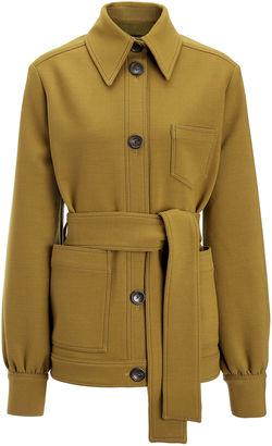 Joseph Bi-Stretch Wool Saul Coat