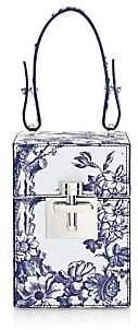 Oscar de la Renta Women's Top Handle Box Bag