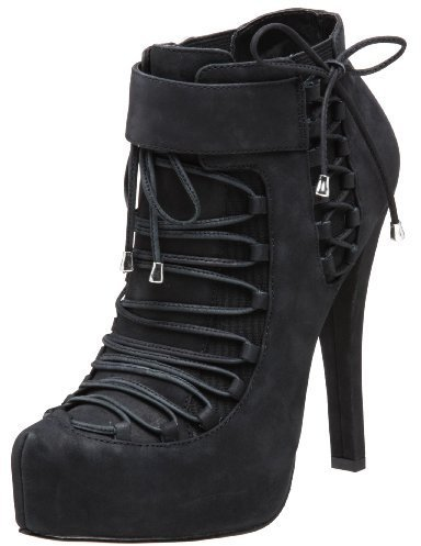 Velvet Angels Women's Snafu Lace Up Bootie