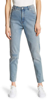 Cheap Monday Donna Distressed High Rise Ankle Jeans