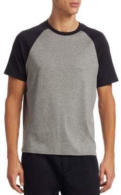 Saks Fifth Avenue MODERN Baseball Cotton Tee