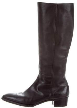 Gravati Leather Knee-High Boots