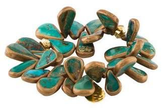 Devon Leigh Turquoise Bead Bracelet