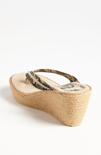 Sbicca 'Trainee' Wedge Flip Flop