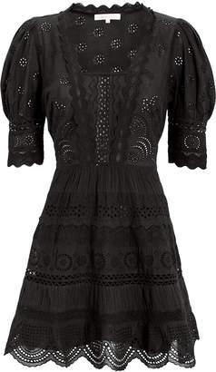 LoveShackFancy Kristen Mini Dress