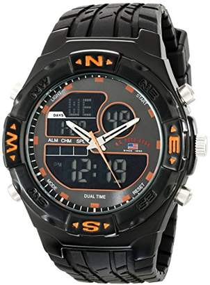 U.S. Polo Assn. Sport Men's US9059 Analog-Digital Watch with Rubber Band