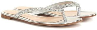 Gianvito Rossi Diva embellished sandals