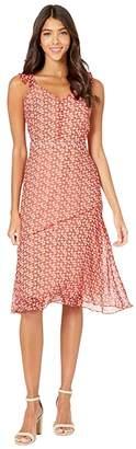 Sam Edelman Ditsy Feather A-Line Dress