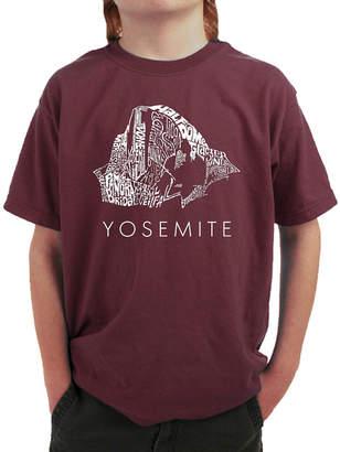 LOS ANGELES POP ART Los Angeles Pop Art Yosemite Graphic T-Shirt Boys