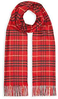 Burberry Women's Tonal Vintage Check Cashmere Scarf