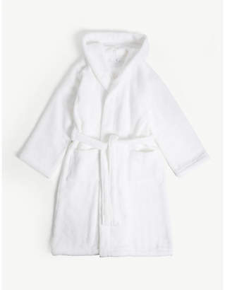 The Little White Company Hydrocotton unisex bathrobe 7-12 years