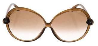 Tom Ford Nicole Oversize Sunglasses