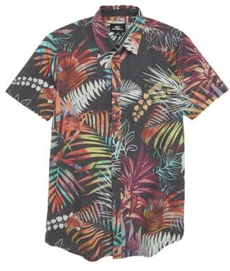 O'Neill Mondaze Tropical Print Woven Shirt