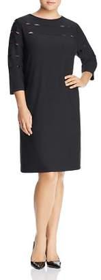 Love Scarlett Plus Peekaboo Cutout Shift Dress