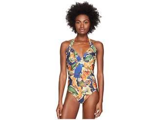 Agua De Coco by Liana Thomaz Padded Brazilian One-Piece Women's Swimsuits One Piece