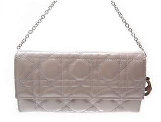 Christian Dior Beige Patent leather Handbag