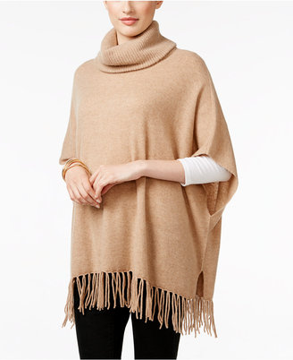 Charter Club Cashmere Fringe Poncho, Only at Macy's $199 thestylecure.com