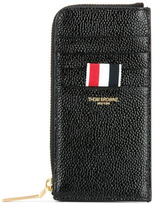 Thom Browne zipped leather wallet