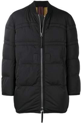 Ziggy Chen padded bomber coat