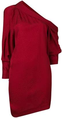 Carmen March one shoulder asymmetric dress