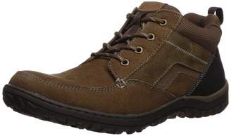 Nunn Bush Men Quest Moccasin Toe Rugged Casual Leather Chukka Boot with Memory Foam Insole