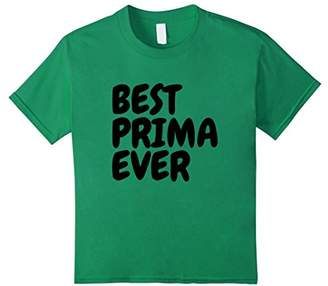 Best Prima Ever T Shirt Best Cousin In Spanish