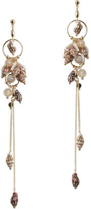 Zimmermann Shell Drop Earring