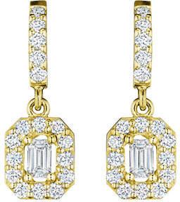 Penny Preville 18k Emerald-Cut Diamond Drop Earrings