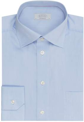 Eton Classic Fit Cotton Twill Shirt
