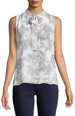 Tommy Hilfiger Woven Beach Paisley Top