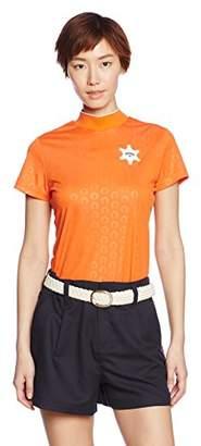 Callaway (キャロウェイ) - (キャロウェイアパレル) Callaway Apparel レディース 吸湿速乾 半袖 ハイネックシャツ インナー (機能素材ファブリック採用) ゴルフ 241-7155801 [ 女性用 ] 241-7155801 150 150_オレンジ S