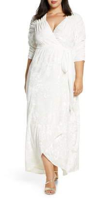 Kiyonna Vie En Crushed Velvet Gown
