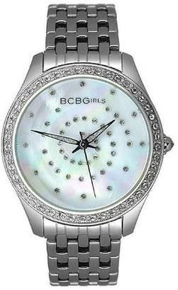 BCBGMAXAZRIA BCBGirls Women's GL4017 Crystal Accented Streak Collection Watch