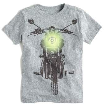 crewcuts by J.Crew Glow in the Dark Motorcycle Graphic T-Shirt