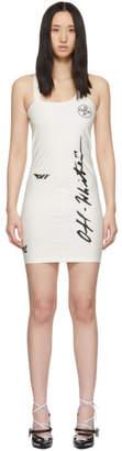Off-White White Diag Athleisure Dress
