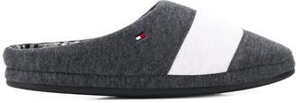 Tommy Hilfiger stripe details slippers