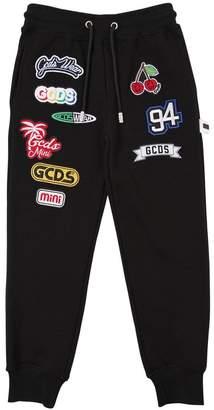 Cotton Sweatpants W/ Patches