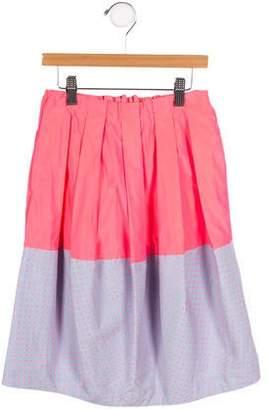 Tia Cibani Girls' Polka Dot Cocoon Skirt w/ Tags