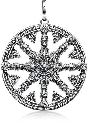 Thomas Sabo Blackened Sterling Silver Pendant w/ Signature Eyelet