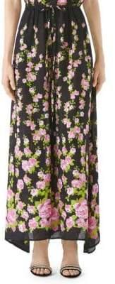 Gucci Jacquard Floral Pajama Pants